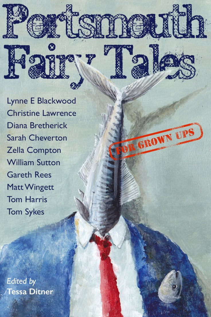 Portsmouth Fairy Tales book cover by Jon Everitt