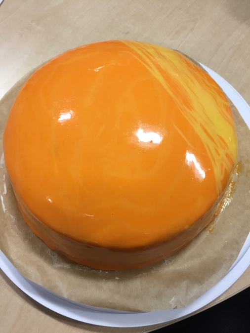 Amber Moon Cake